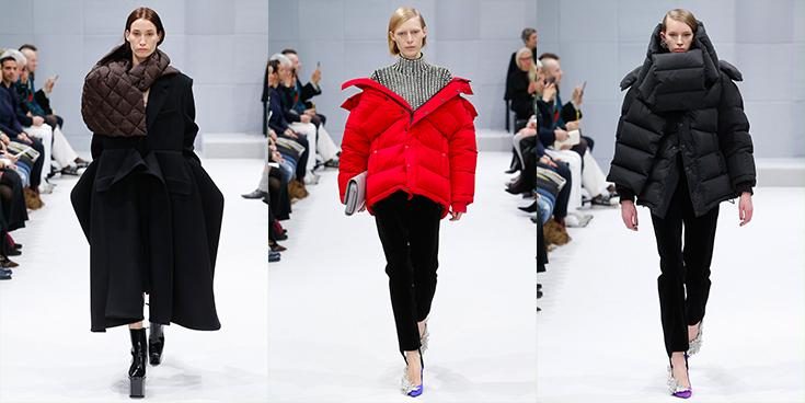 Looks de modelos com casacos para produções de inverno e bolsas femininas de couro metalassê.