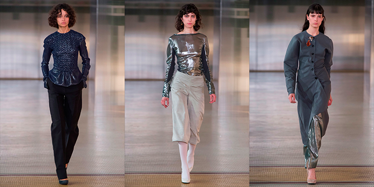 Lurex. Lemaire Fall 2017.